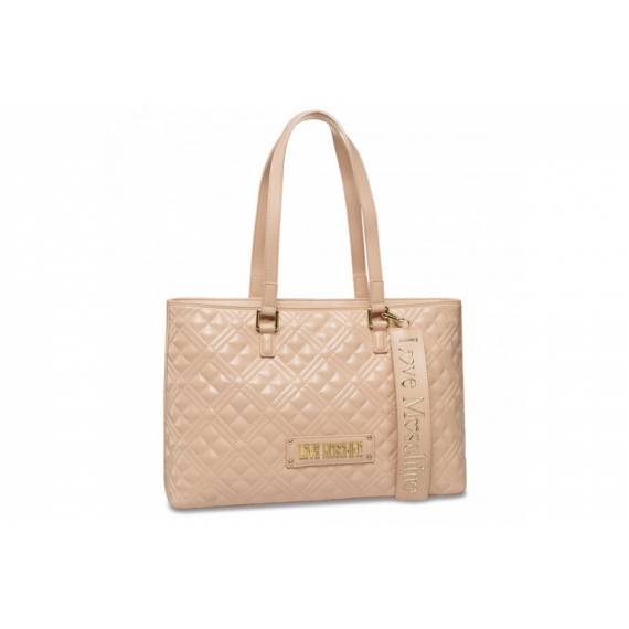 LOVE MOSCHINO SHOPPER NUDE