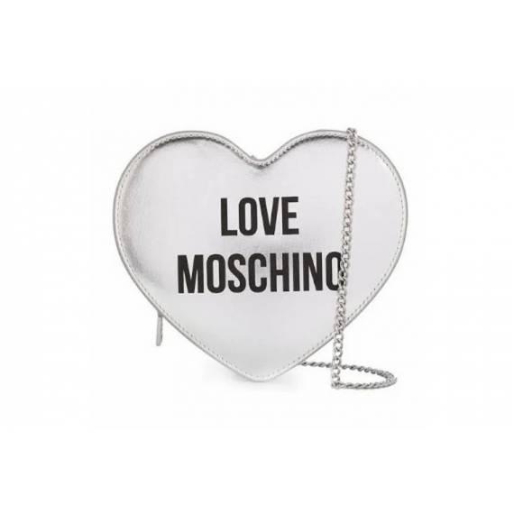 LOVE MOSCHINO CUORE ARGENTO