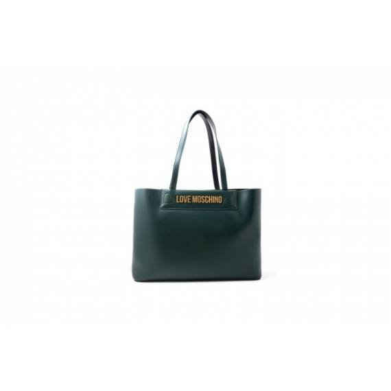 LOVE MOSCHINO SHOPPING VERDE SCURO