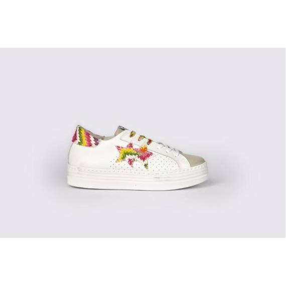 2STAR SNEAKERS MULTICOLOR FONDO ALTO